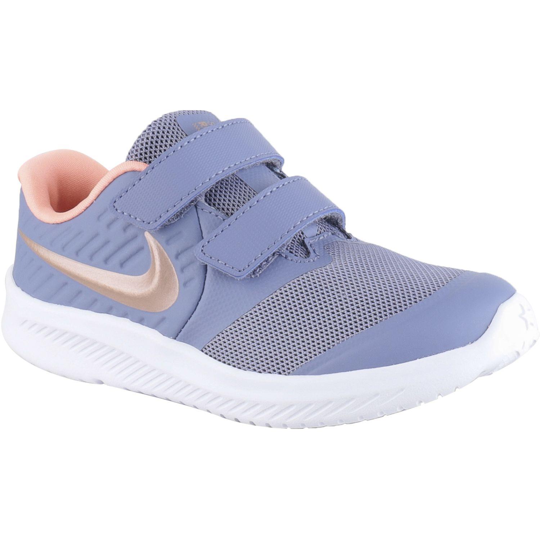 Nike Nike Star Runner 2 (Tdv) Gris Zapatillas