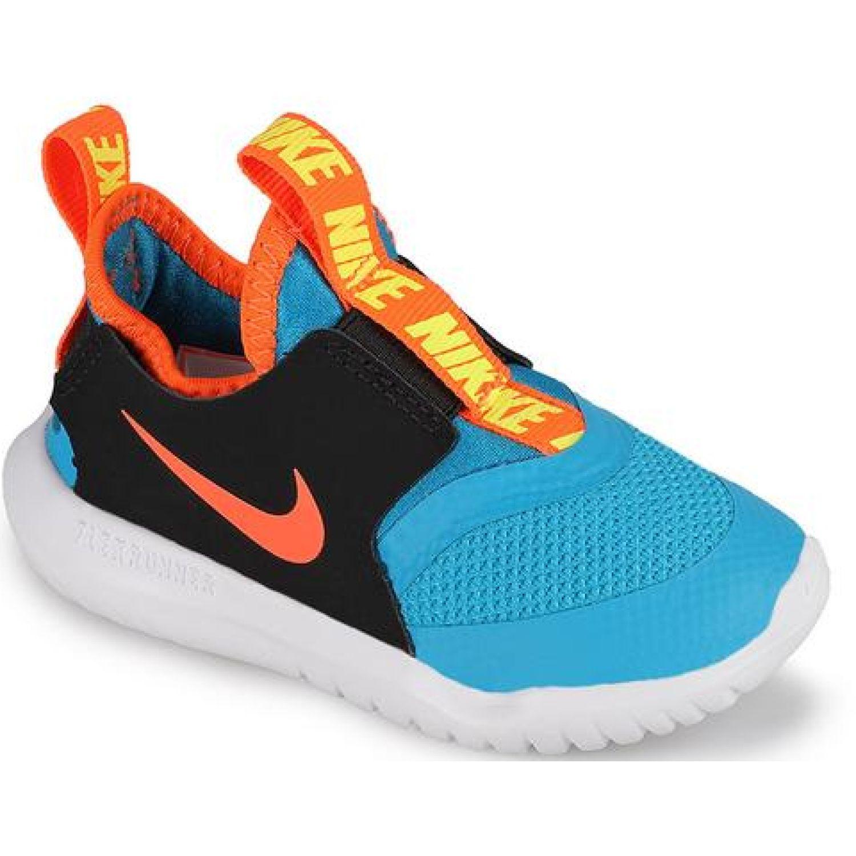 Nike Nike Future Flex Tdv Celeste / negro Zapatillas