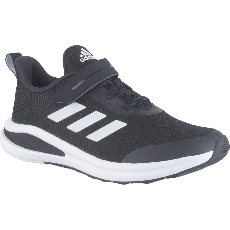 Adidas Fortarun El K Negro / blanco Niños