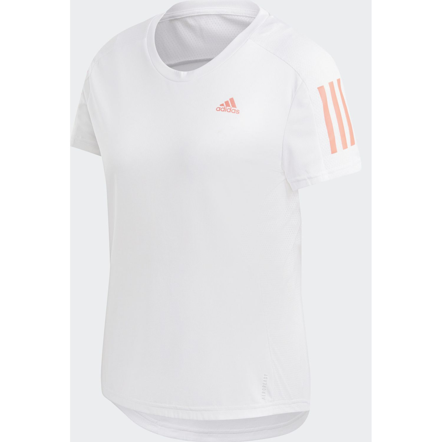 Adidas Own The Run Tee Blanco Polos
