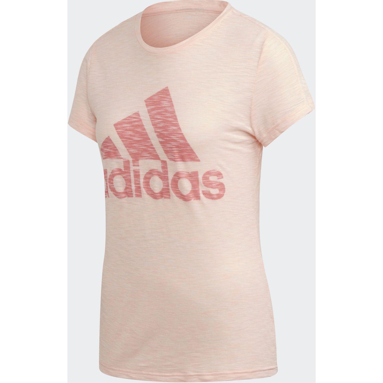Adidas W Winners Tee Rosado Polos