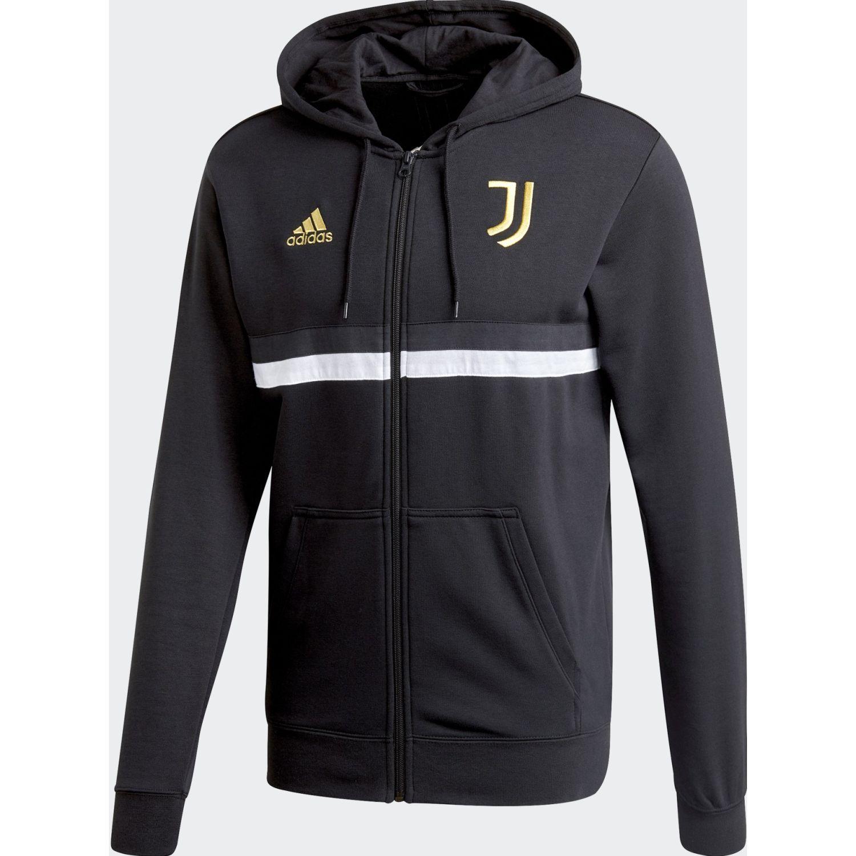Adidas Juve 3s Fz Hd Negro Casacas deportivas