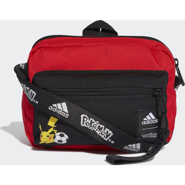 Adidas Pokemon Org Rojo / negro Bolsos tipo mensajero