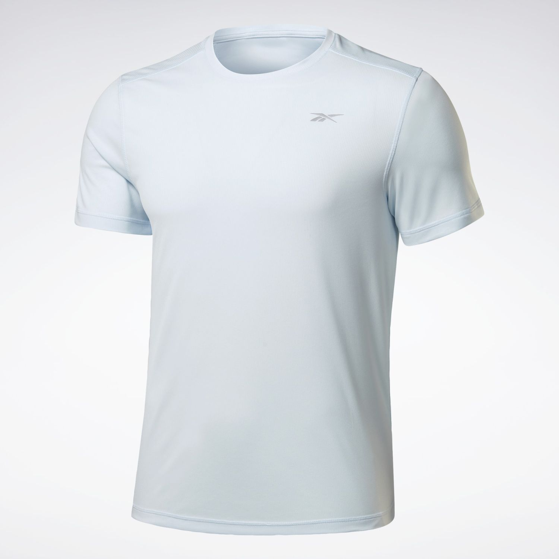 Reebok Re Ss Tee Celeste Camisetas y polos deportivos