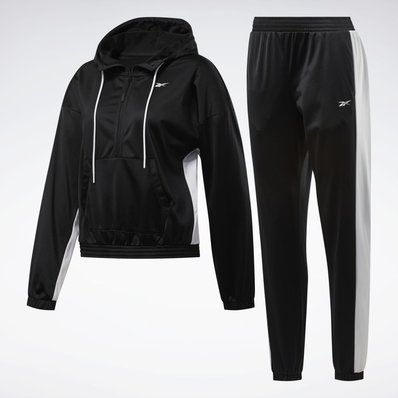 Reebok Linear Logo Hoodie Ts Negro Buzos deportivos