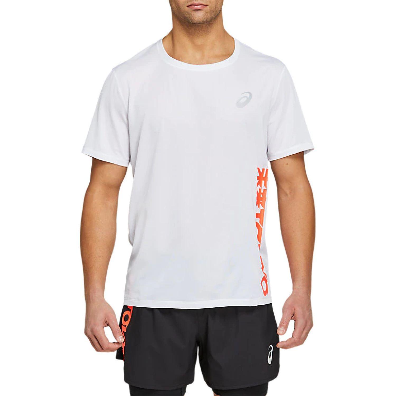 Asics M Future Tokyo Ss Brilliant White Blanco Camisetas y polos deportivos