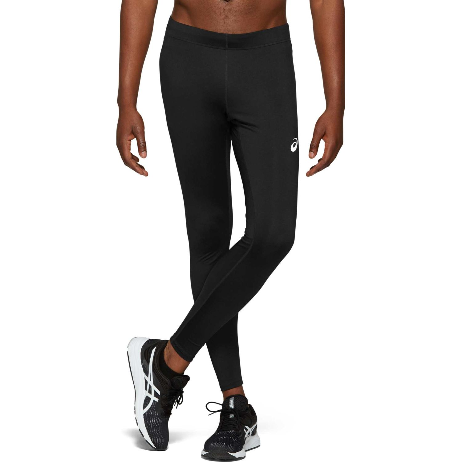Asics Silver Tight Performance Black Negro Pantalones deportivos