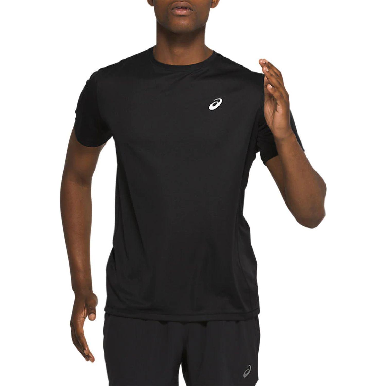 Asics M Katakana Ss Top Performance Black Negro Camisetas y polos deportivos