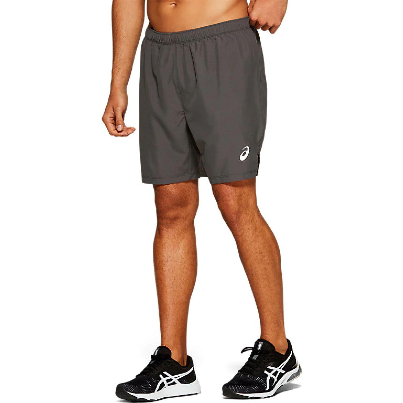 Asics Silver 7in Short    Dark Grey Gris Shorts deportivos
