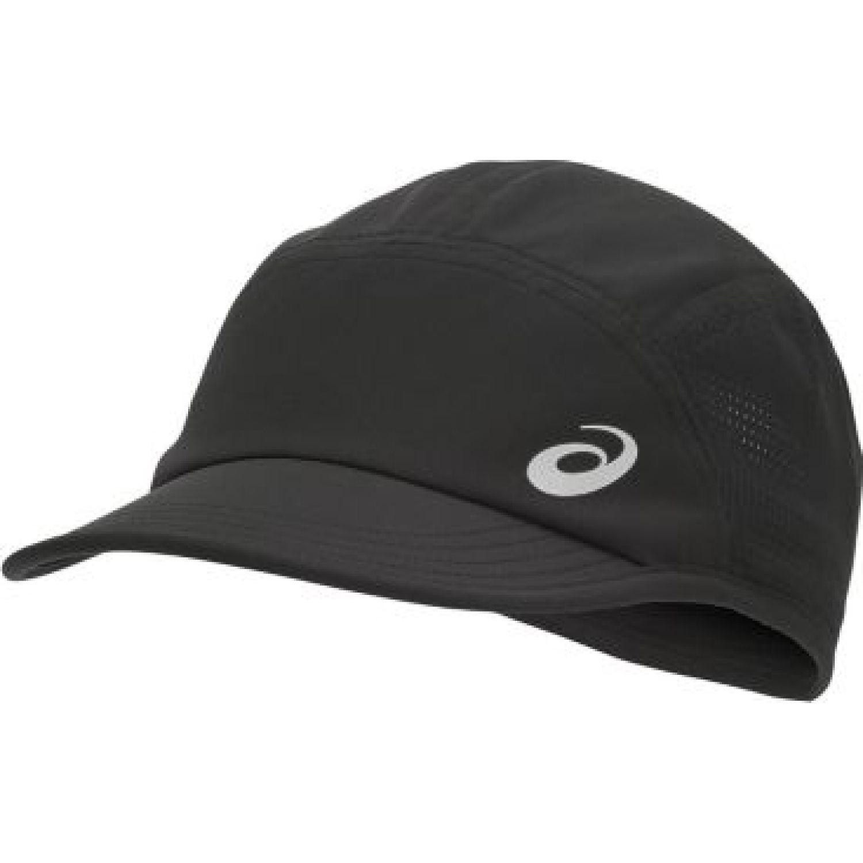 Asics Woven Cap Performance Black Negro Gorras de béisbol