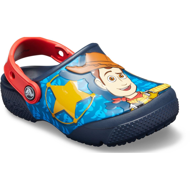Toy Story San 205493 Fun Lab Buzz Woody 410 Azul Sandalias