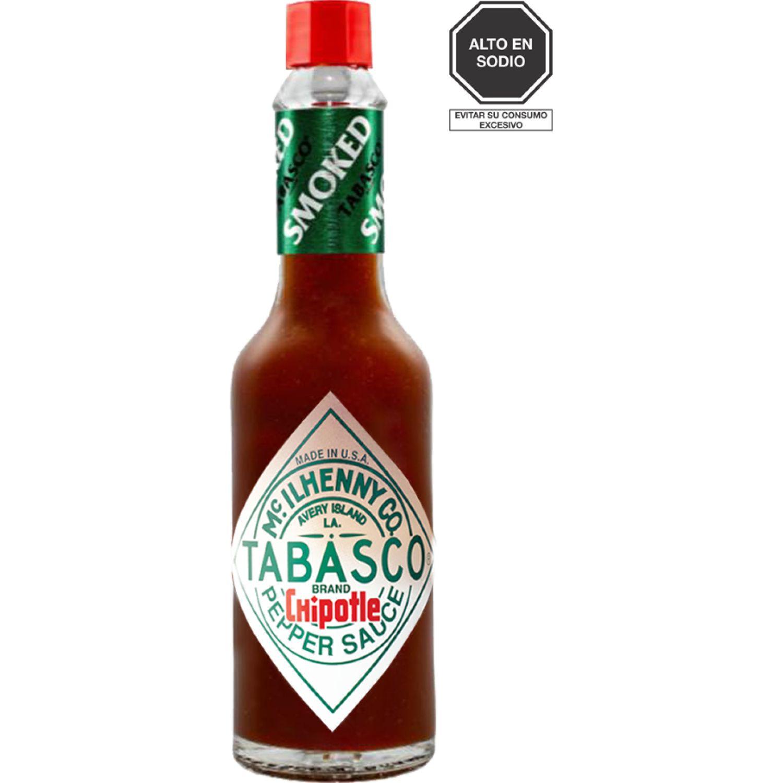 TABASCO Salsa Chipotle X 60ml Sin color Salsa picante