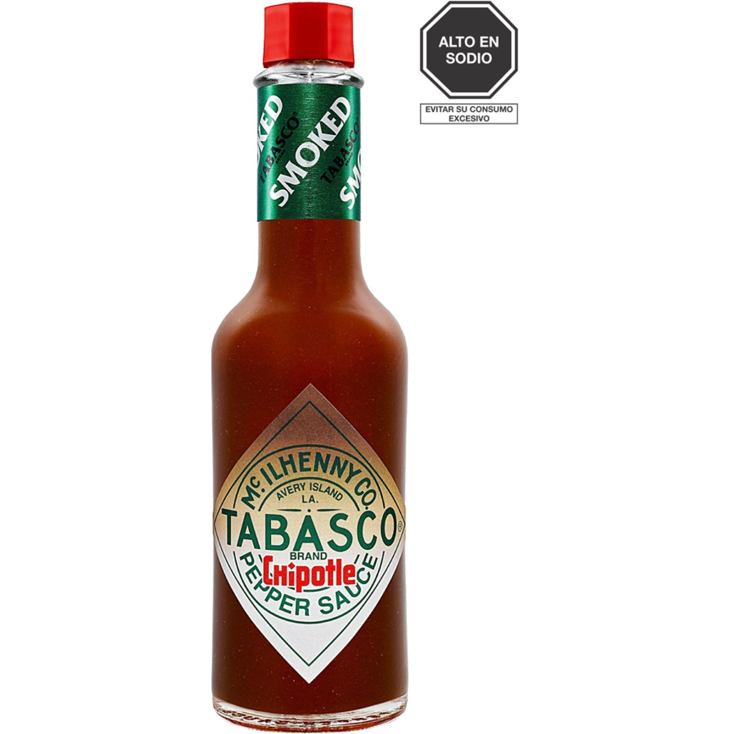TABASCO Salsa Chipotle X 150ml Sin color Salsa picante