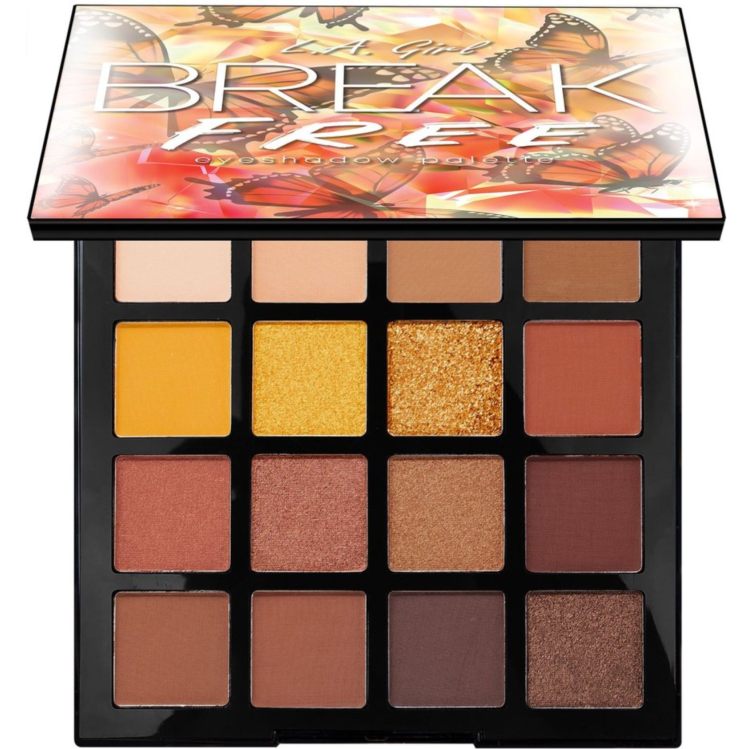 L.a. Girl Break Free Eyeshadow Palette BE YOU Sombras para ojos