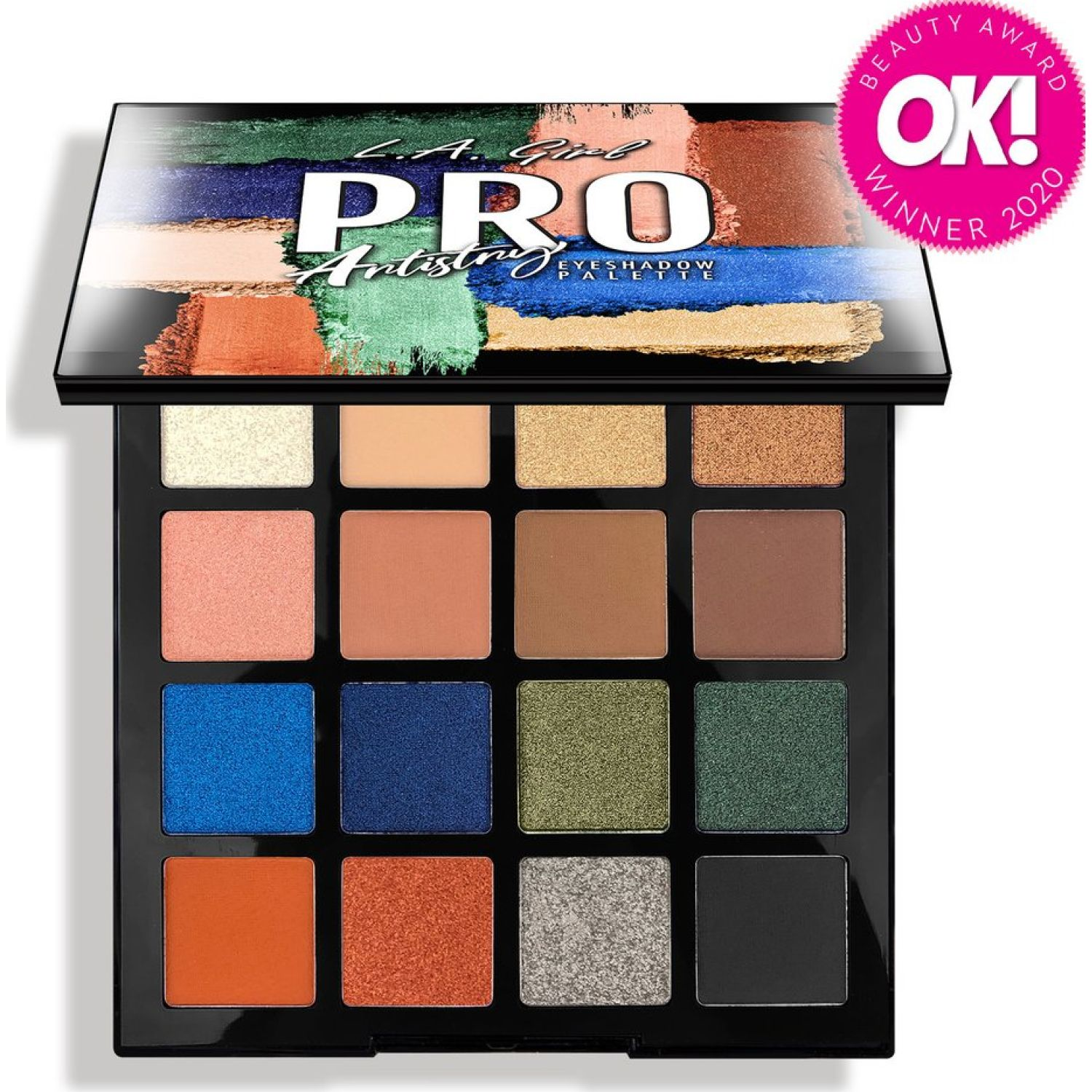 L.a. Girl Pro Eyeshadow Palette ARTISTRY Sombras para ojos