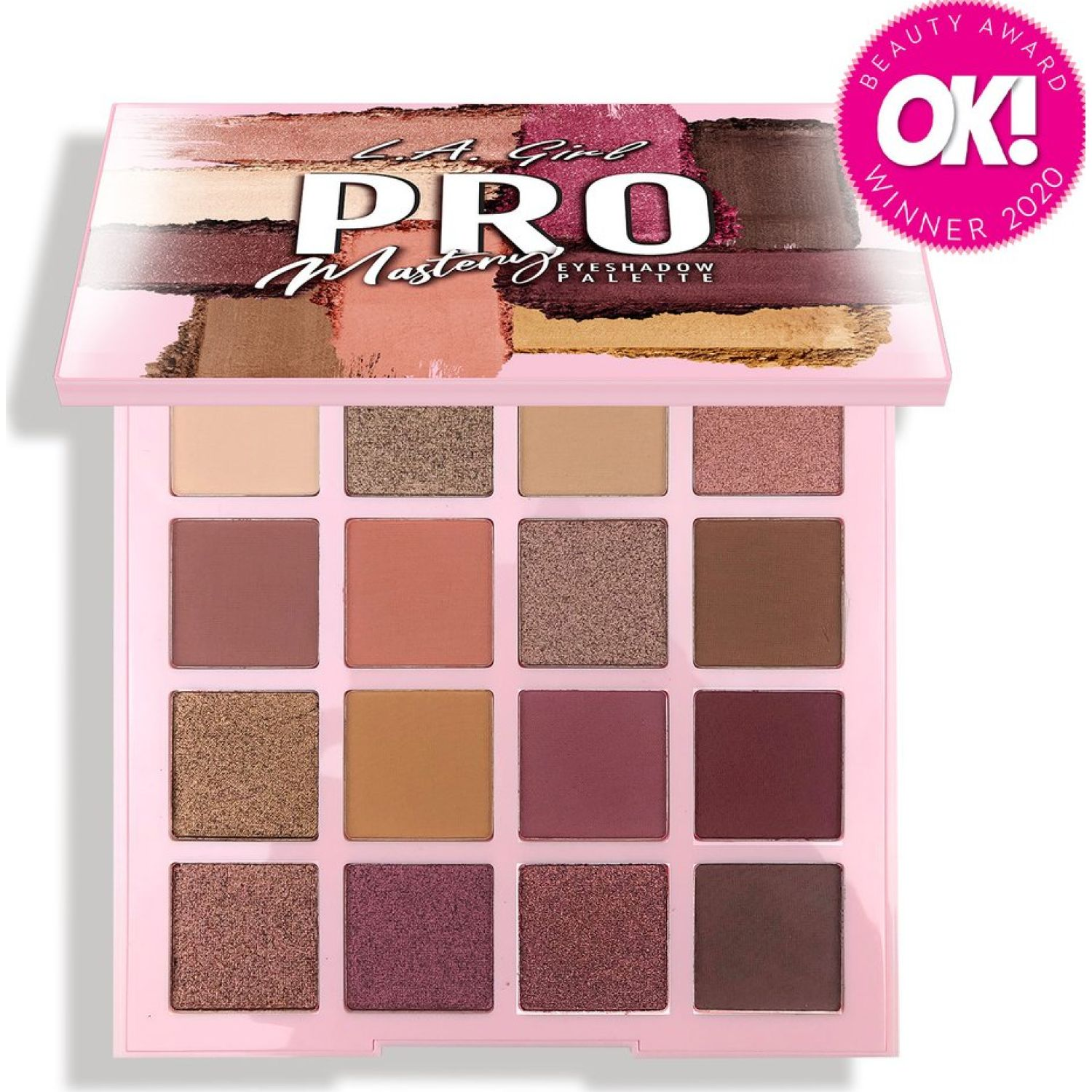 L.a. Girl Pro Eyeshadow Palette MASTERY Sombras para ojos