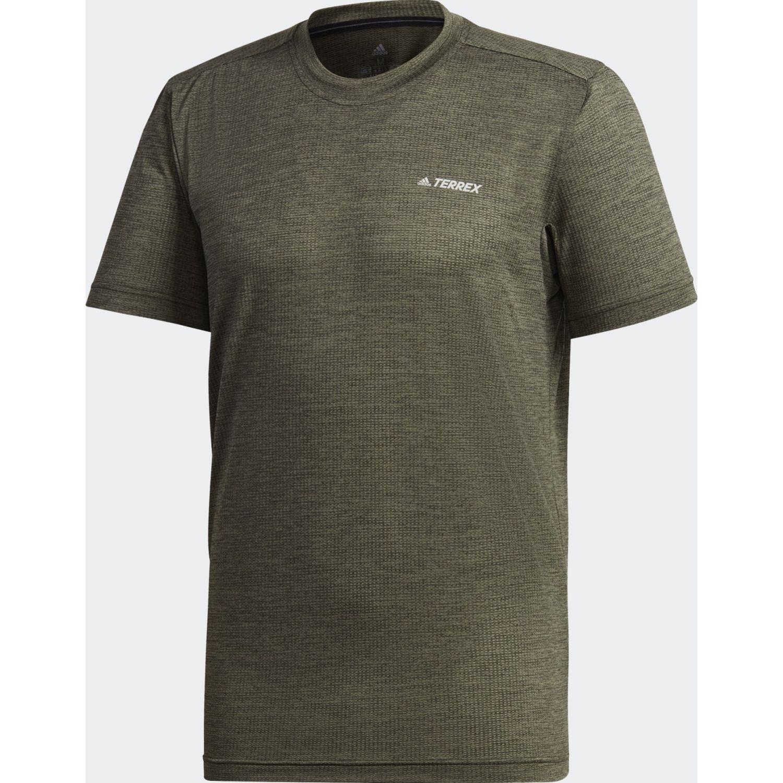 Adidas Tivid Tee Verde Camisetas y Polos Deportivos