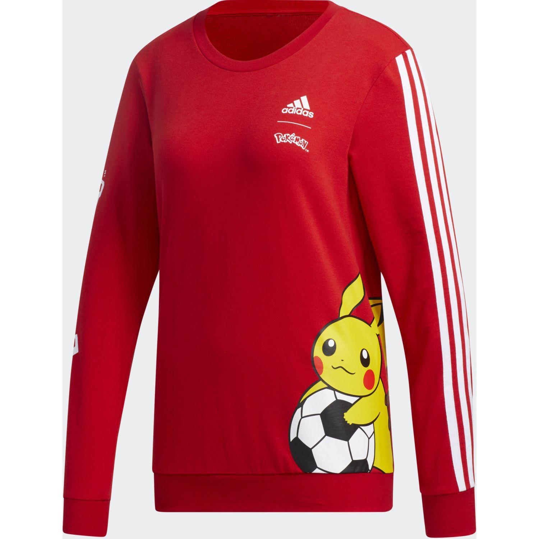 Adidas W Pkmn Pika Swt Rojo / amarillo Hoodies Deportivos