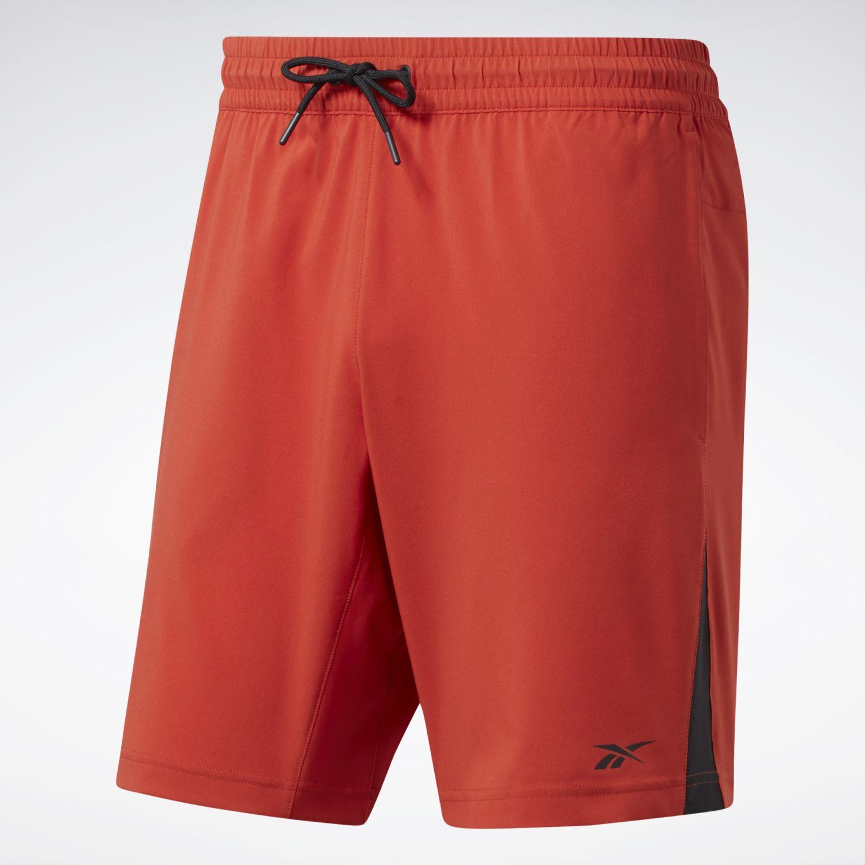 Reebok Wor Woven Short Naranja Shorts deportivos