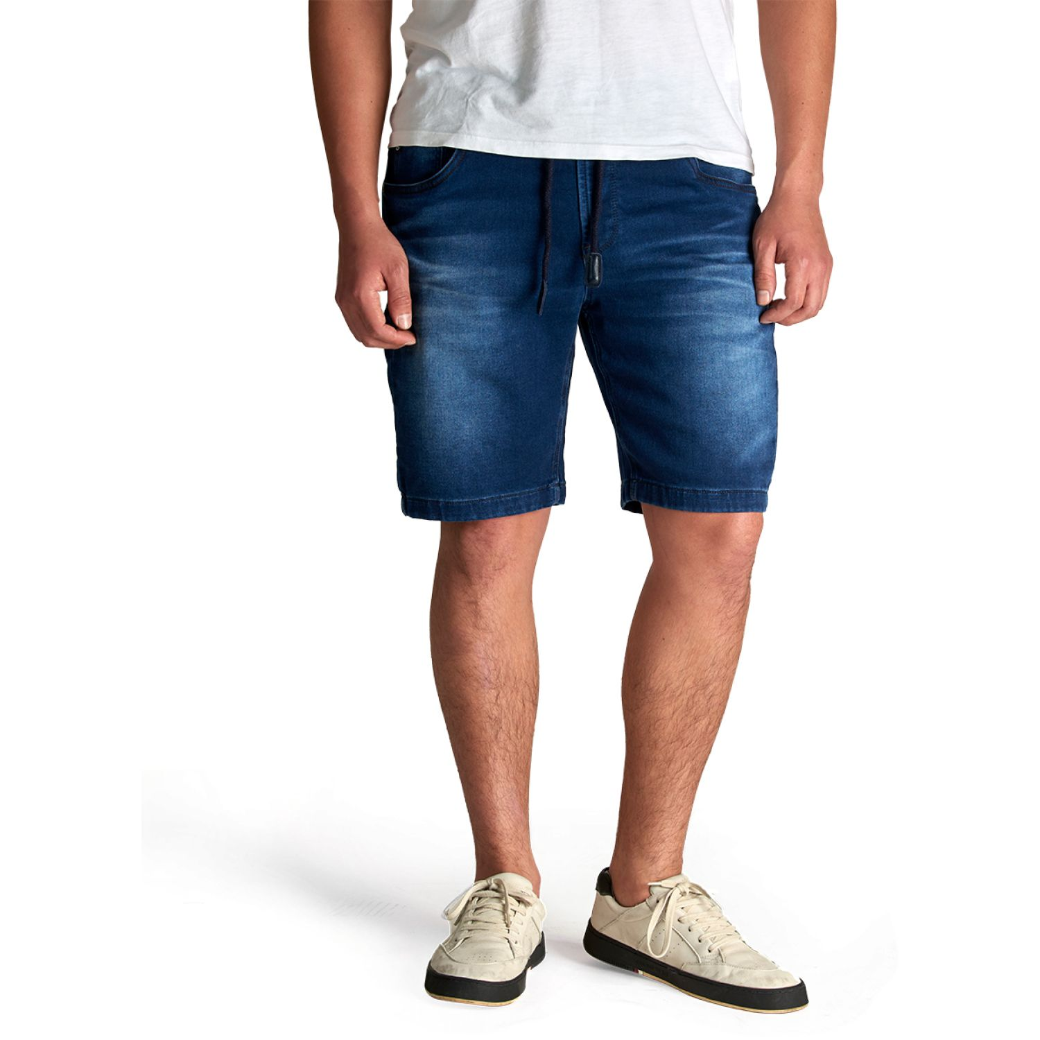 Octo Denim Co Short Andres Azul Cargo