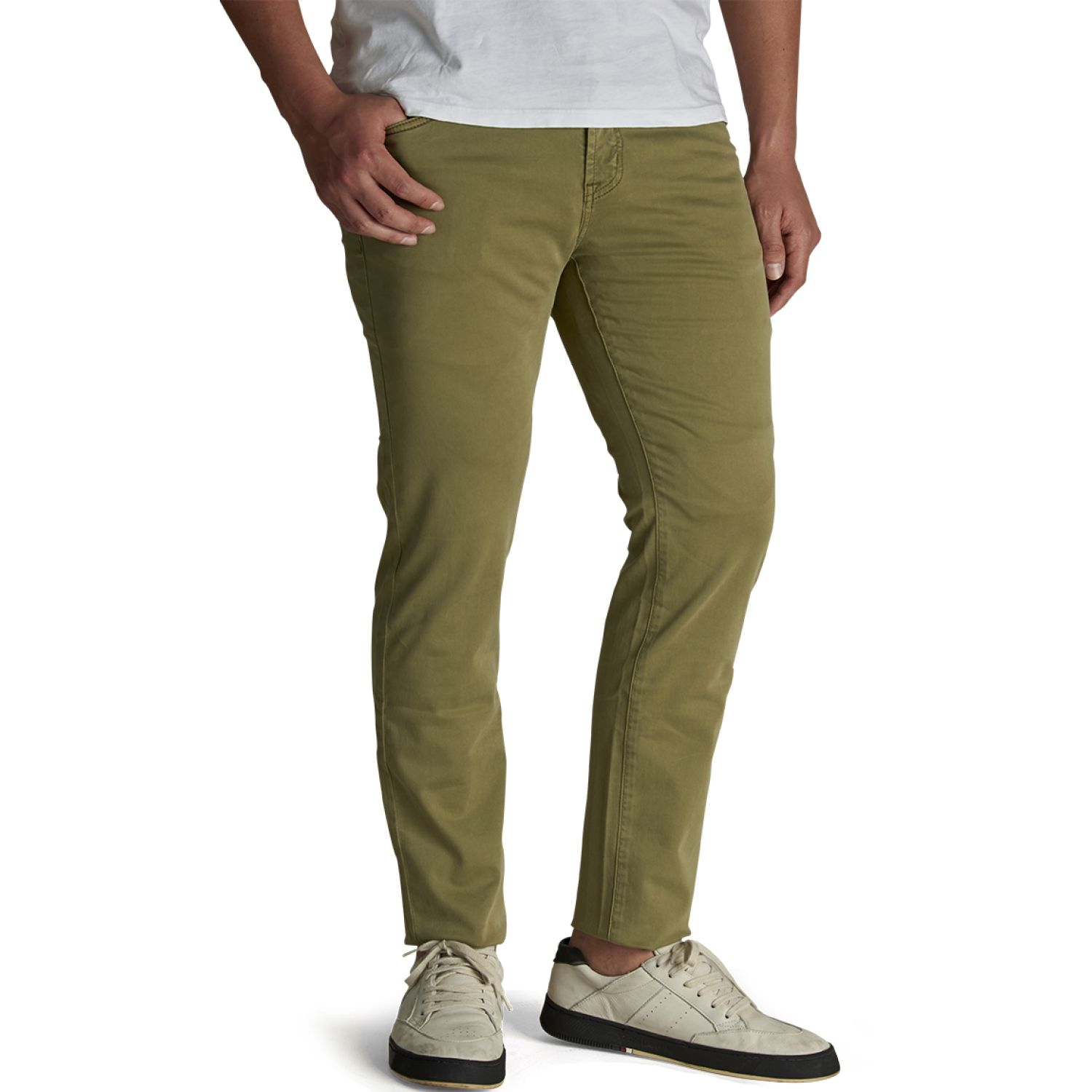 Octo Denim Co Jean Slim Cristiano Verde Verde Casual