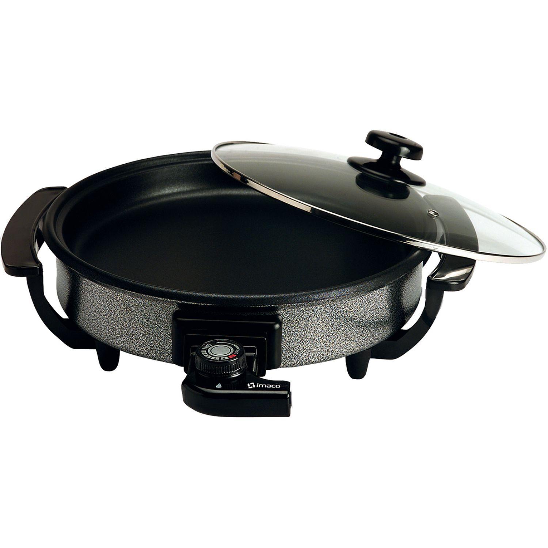 Imaco Sarten Multicook 28 Cms. Pes280 Acero / negro Sartenes eléctricos