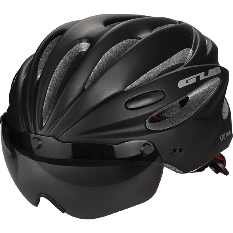 Platanitos Life Casco Para Ciclismo Con Protector S003 Negro Accesorios casco