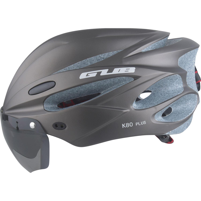 Platanitos Life Casco Para Ciclismo Con Protector S003 Gris Accesorios casco