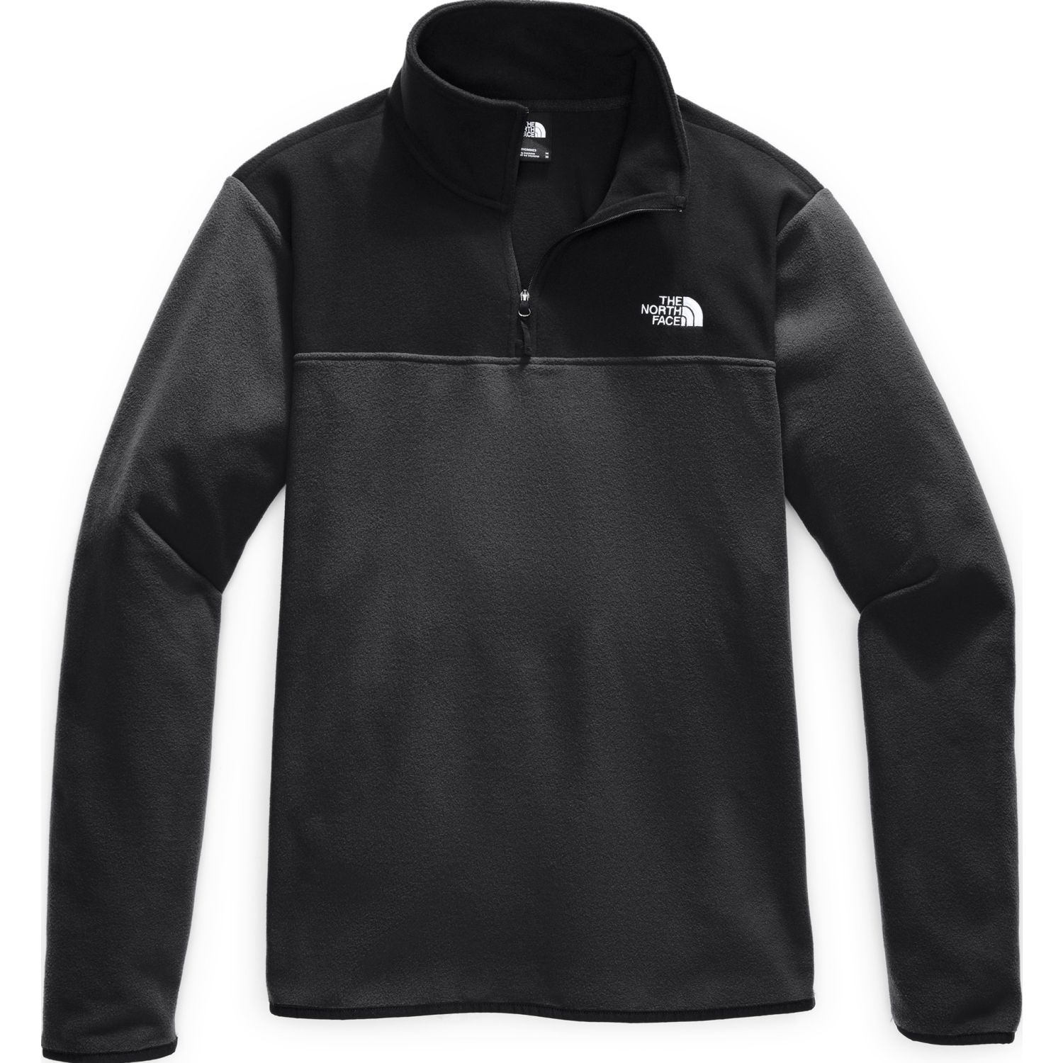 The North Face M Tka Glacier 1/4 Zip Plomo / negro Jerseys