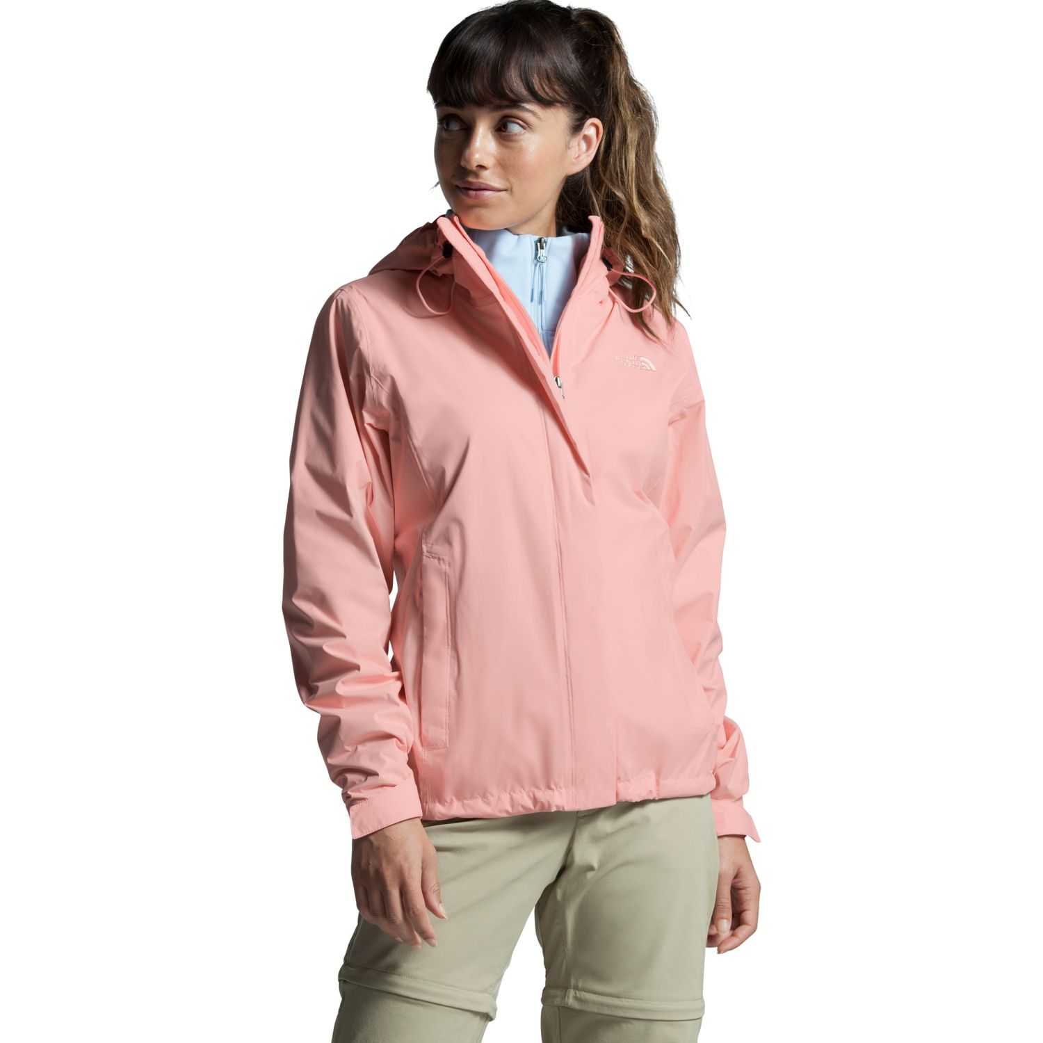 The North Face W Venture 2 Jacket Rosado Impermeables y chaquetas