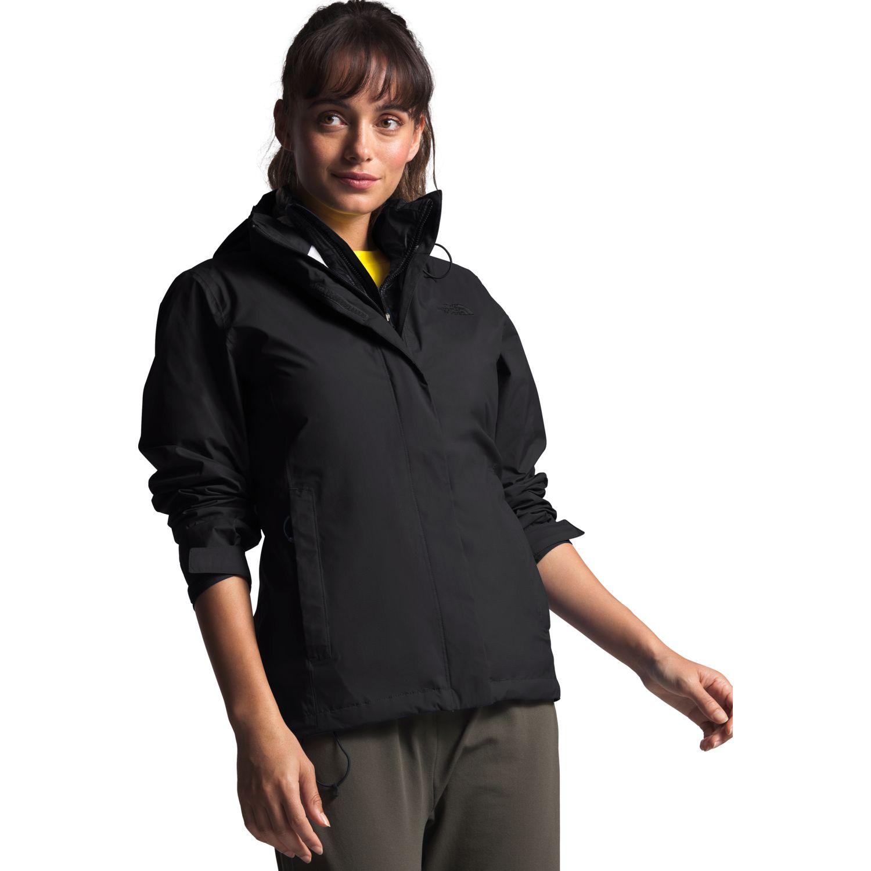 The North Face W Venture 2 Jacket Negro / negro Impermeables y chaquetas