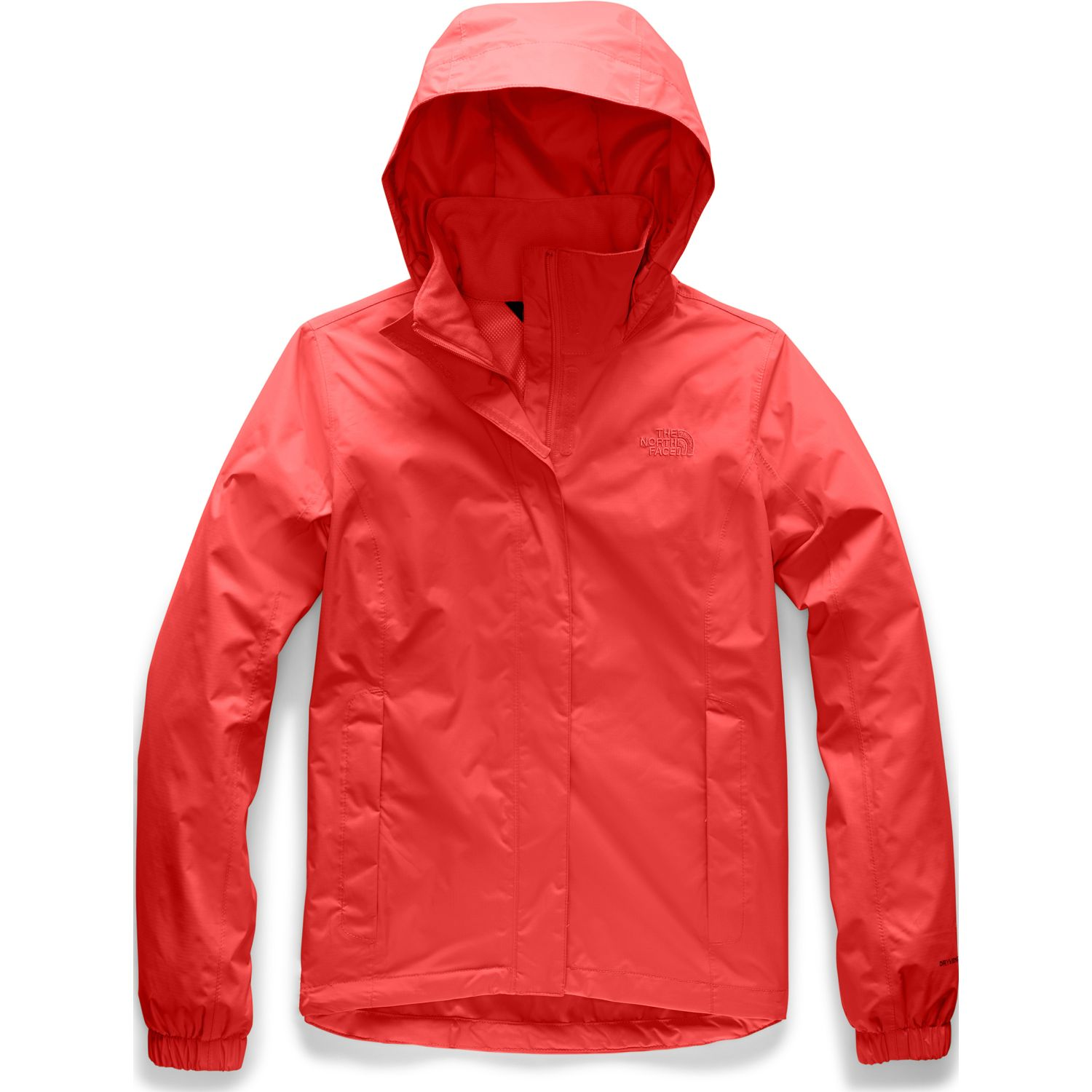 The North Face W Resolve 2 Jacket Rojo Impermeables y chaquetas