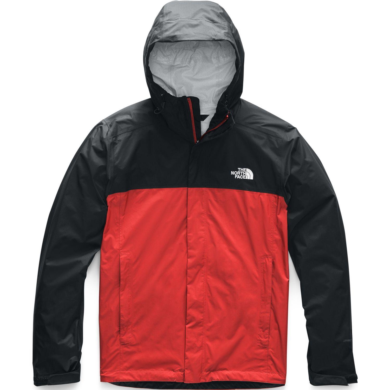 The North Face M Venture 2 Jacket Rojo / negro Impermeables y chaquetas