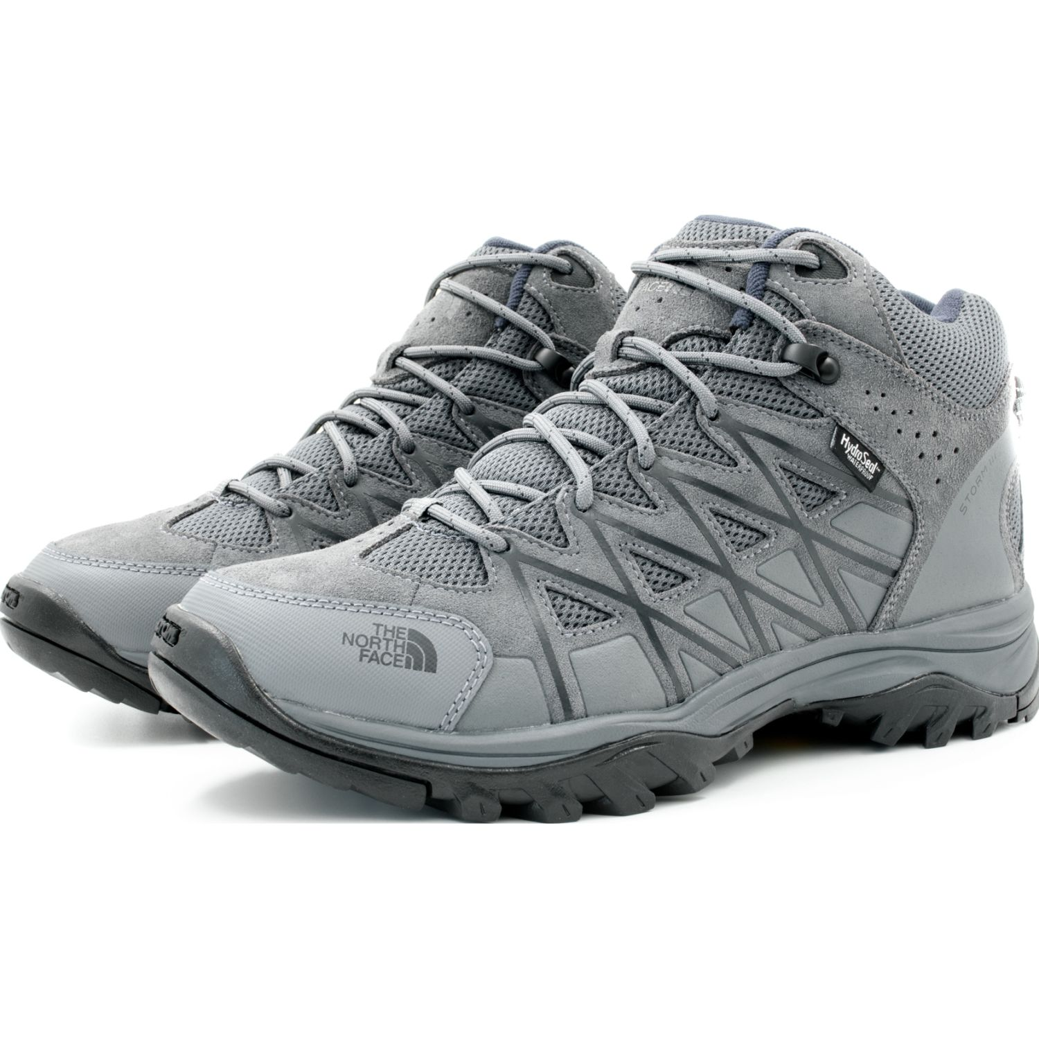 The North Face M Storm Iii Mid Wp Gris / negro Zapatos de senderismo