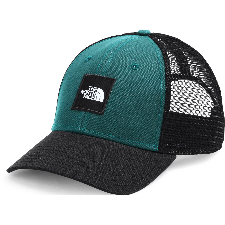 The North Face Tnf Box Logo Trucker Verde / negro Gorras de béisbol