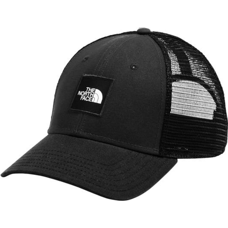 The North Face Tnf Box Logo Trucker Negro Gorras de béisbol