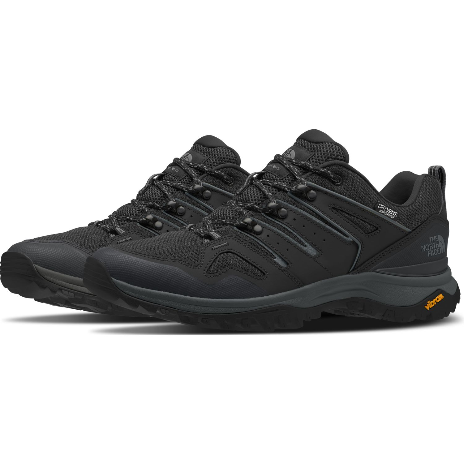 The North Face M Hedgehog Fastpack Ii Wp Negro / plomo Zapatos de senderismo