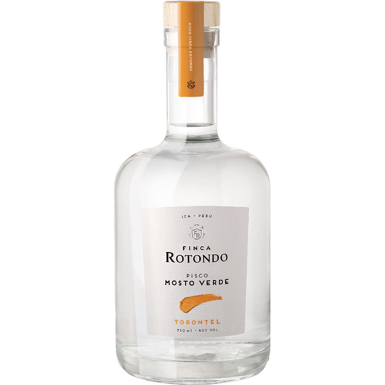 FINCA ROTONDO Pisco Mosto Verde Torontel 750ml Transparente Brandy y aguardientes
