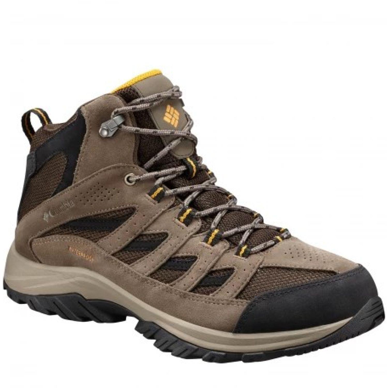 Columbia Crestwood Mid Water Marron Zapatos de senderismo