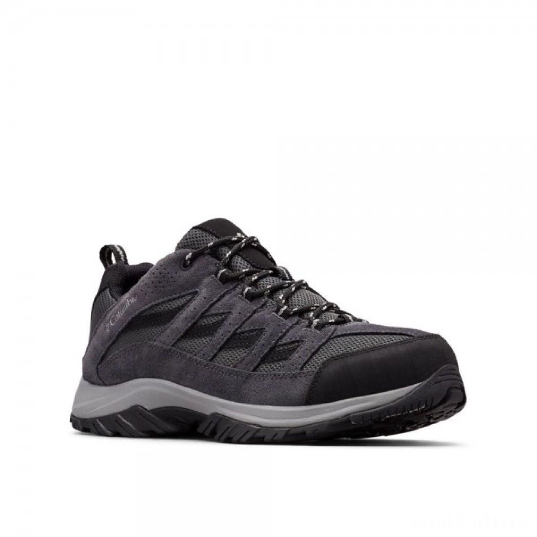 Columbia Crestwood Low Gris Zapatos de senderismo