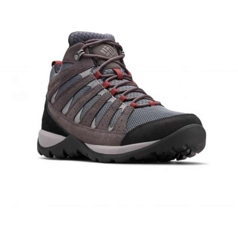 Columbia Redmond V2 Mid Wp Gris Zapatos de senderismo