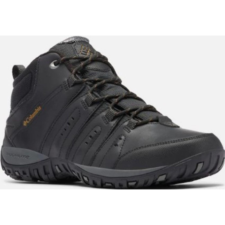 Columbia Woodburn Ii Chukka W Negro Zapatos de senderismo