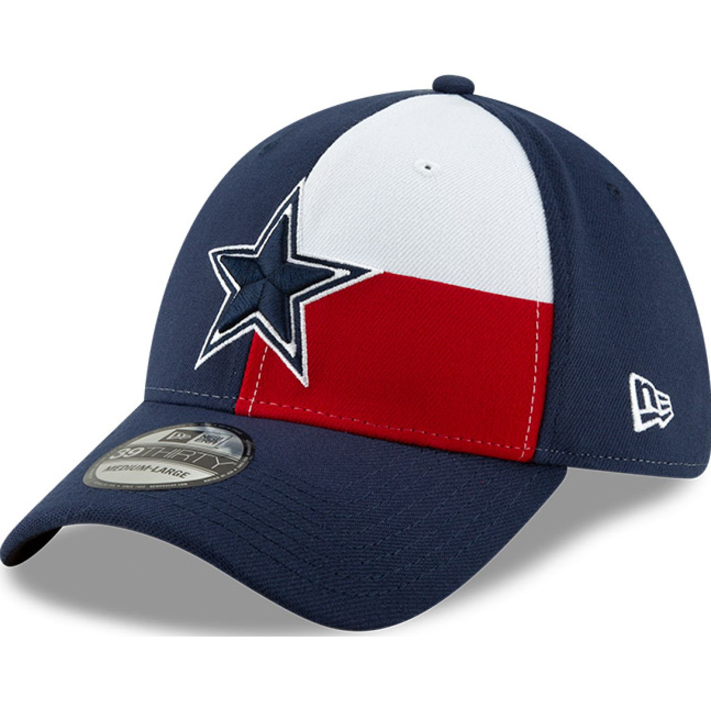 NEW ERA 3930 Nfl19 Spotlight Dalcow Osb DK BLUE Gorras de béisbol