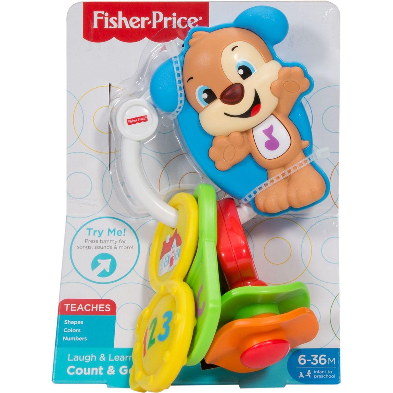 Fisher Price Ríe Y Aprende Llavero Cuenta Y Aprende Varios Música y sonido