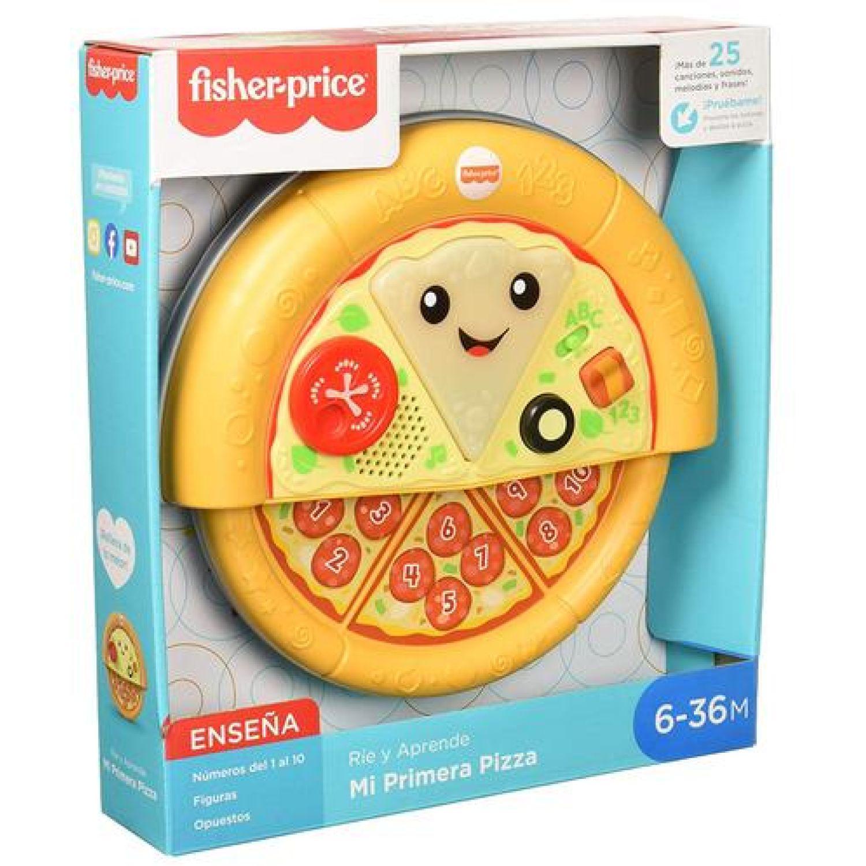Fisher Price F-P Ríe Y Aprende Mi Primera Pizza Varios Música y sonido