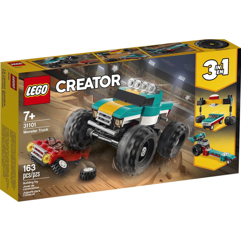 Lego Camion Mounstro Varios Juegos de construcción
