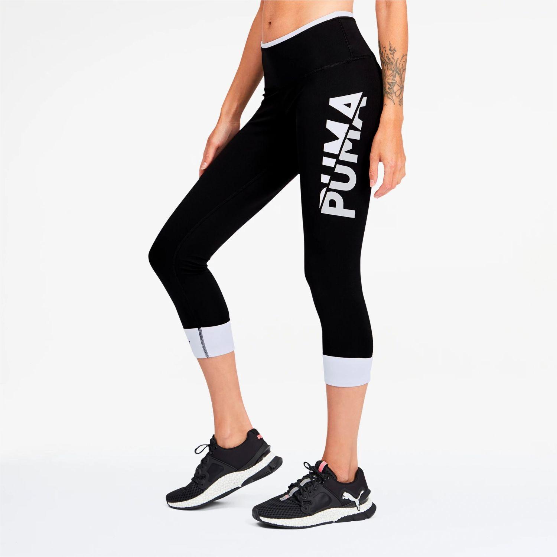 Puma Modern Sports Fold Up 7/8 Tight Negro Leggings deportivos