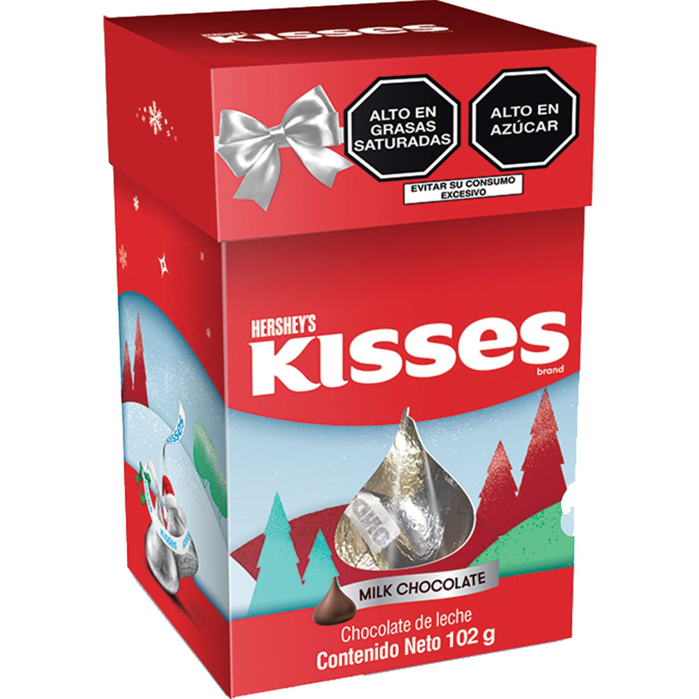 HERSHEY'S Kisses Chimenea Chocolate C/Leche 102gr Sin color Regalos de dulces y chocolate