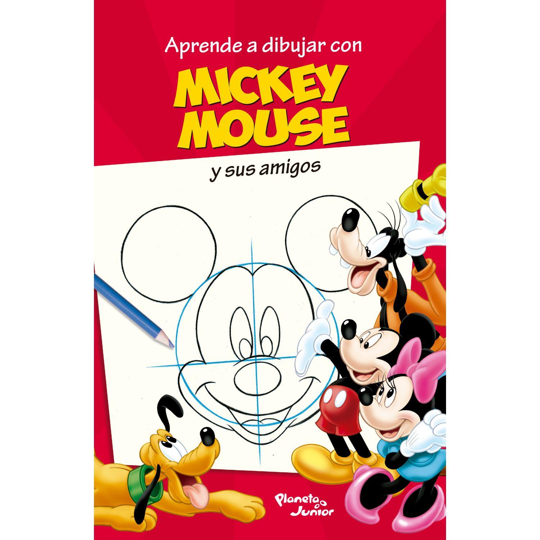 EDITORIAL PLANETA Aprende A Dibujar Con Mickey Surtido Libros para colorear