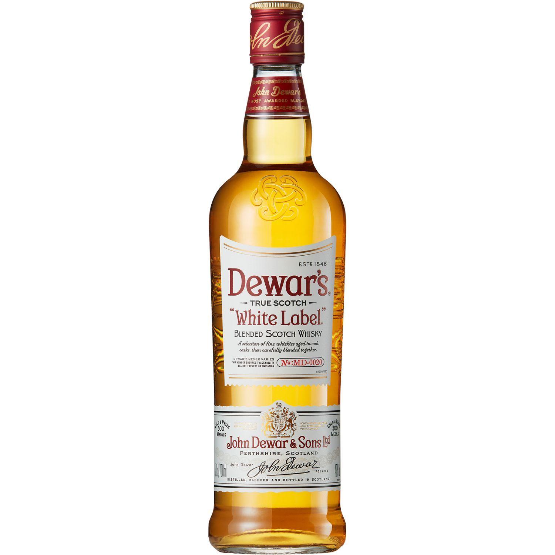 DEWAR'S Whisky Estándar X 750ml Sin color Whisky y Scotch